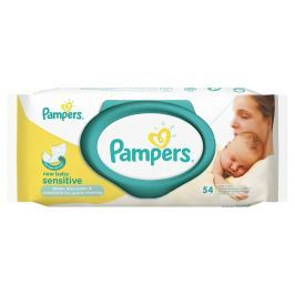 Pampers ubrousky Sensitive New Baby