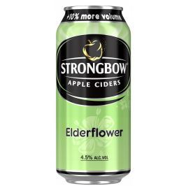 Strongbow Elderflower cider plech