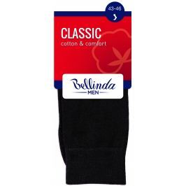 Bellinda pánské ponožky CLASSIC SOCKS, černé, vel. 43-46