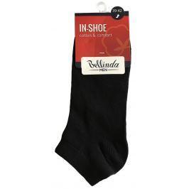 Bellinda pánské nízké ponožky IN-SHOE SOCKS, černé, vel. 39-42