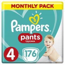 Pampers Pants plenkové kalhotky (velikost 4), měsíční balení 176ks