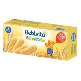 Bebivita Medvědí sušenky 4x45g,