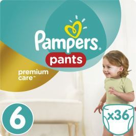 Pampers Pants Premium Value Pack (velikost 6) 36ks