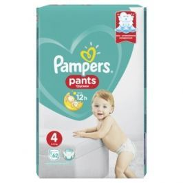 Pampers Pants Active Baby (velikost 4) 62ks