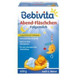 Bebivita Kojenecké mléko na dobrou noc od ukončeného 6. měsíce