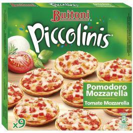 Buitoni Piccolinis Tomato Mozzarella pizza 9ks,