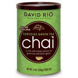 David Rio Chai Tortoise Green Tea + hrnek jako dárek