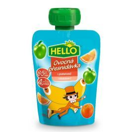 Hello ovocná přesnídávka v kapsičce s pomeranči