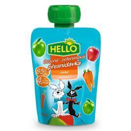Hello ovocná přesnídávka v kapsičce s mrkví