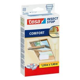Tesa Síť proti hmyzu do střešního okna, bílá, 1,2 m x 1,4 m