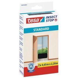 Tesa Síť proti hmyzu do dveří, antracitová, 2 x 0,65 m x 2,2 m