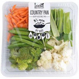 Titbit Ready to Cook Country Pan (květák, brokolice, lusky, pór, bylinky)