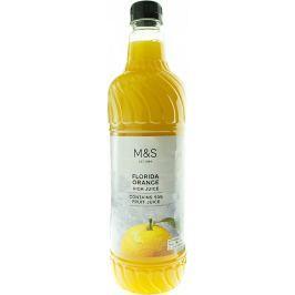 Marks & Spencer Sirup z floridských pomerančů s dužinou