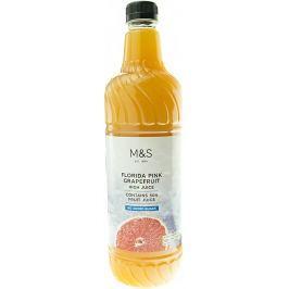 Marks & Spencer Ovocný sirup z grapefruitové šťávy se sladidlem
