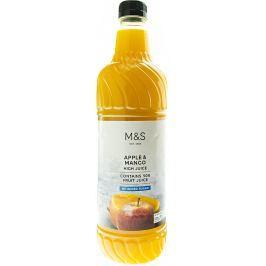 Marks & Spencer Sirup z jablek s mangovým protlakem se sladidlem
