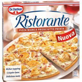 Dr. Oetker Ristorante Bianca Patatas pizza