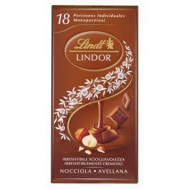 Lindt Lindor Singles mléčná čokoláda s oříšky