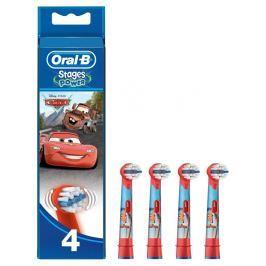 Oral-B Stages Kartáčkové Hlavice S Motivem Disney Auta 4ks