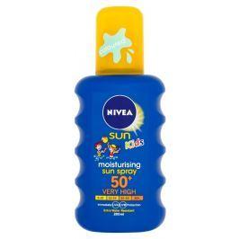 Nivea Sun Dětský barevný sprej na opalování OF 50+