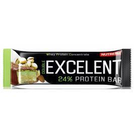 Nutrend EXCELENT bar double, mandle+pistácie