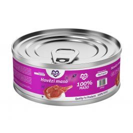 Marty konzerva pro psy 100% maso - Monoprotein hovězí