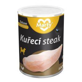 Marty konzerva pro psy DeLuxe - Kuřecí prsa steak