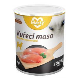 Marty konzerva pro psy ze 100 % masa - kuře