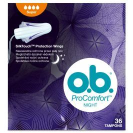 o.b. ProComfort tampony night super 36ks