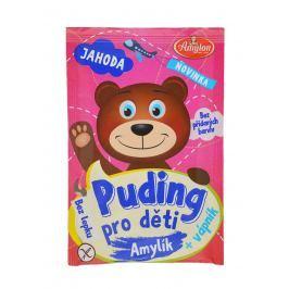 Amylon Puding jahodový pro děti - bez lepku