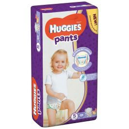 Huggies Pants Jumbo 5 plenkové kalhotky 12-17kg (34ks)