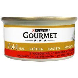 Gourmet Gold paštika s hovězím