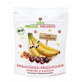 erdbär Freche Freunde Cereálie banán a třešeň