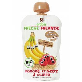erdbär Freche Freunde Ovocná kapsička banán, jahoda a merlík čilský