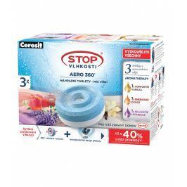 Ceresit stop vlhkosti AERO 360° náhradní tablety 3in1 TRIOPACK AROMA (3x450g)