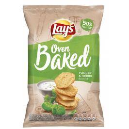 Lay's Chipsy Oven Baked  s příchutí jogurtu a bylinek