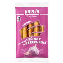Havlík Trvanlivé tyčinky se sýrem a solí - Česnek
