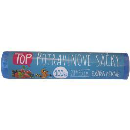 Vipor potravinové sáčky na roli - modré 20x30cm, 100ks