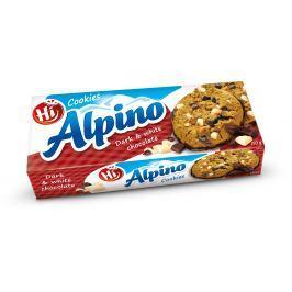 Hi Alpino COOKIES s tmavou a bílou čokoládou