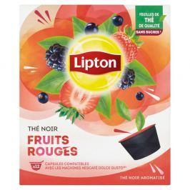 Lipton Černý aromatizovaný čaj Lesní ovoce 12 kapslí