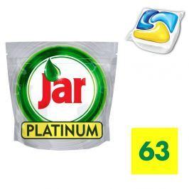 Jar kapsle na nádobí Platinum Yellow 63ks
