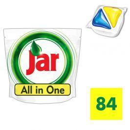 Jar kapsle na nádobí Yellow 84ks
