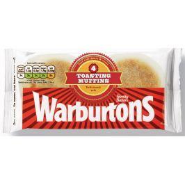 Warburtons Toustové muffiny 4ks (mražené)