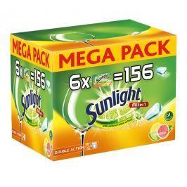 Sunlight All in 1 Citrus Tablety do myčky nádobí 156ks