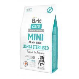 Brit Care Mini Light & Sterilised granule pro psy miniaturních plemen