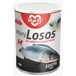 Marty konzerva pro psy ze 100 % masa - losos