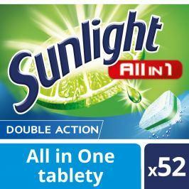 Sunlight All in 1 Tablety do myčky nádobí 52ks