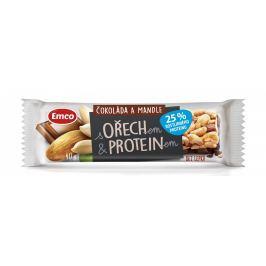 Emco Tyčinka Ořech s Proteinem a čokoládou