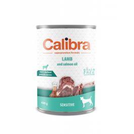 Calibra Sensitive jehněčí konzerva pro psy