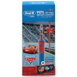 Oral-B Kids Elektrický Zubní Kartáček Disney Auta + Penál dárková sada