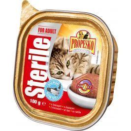Propesko kočka vanička s lososem pro sterilní kočky